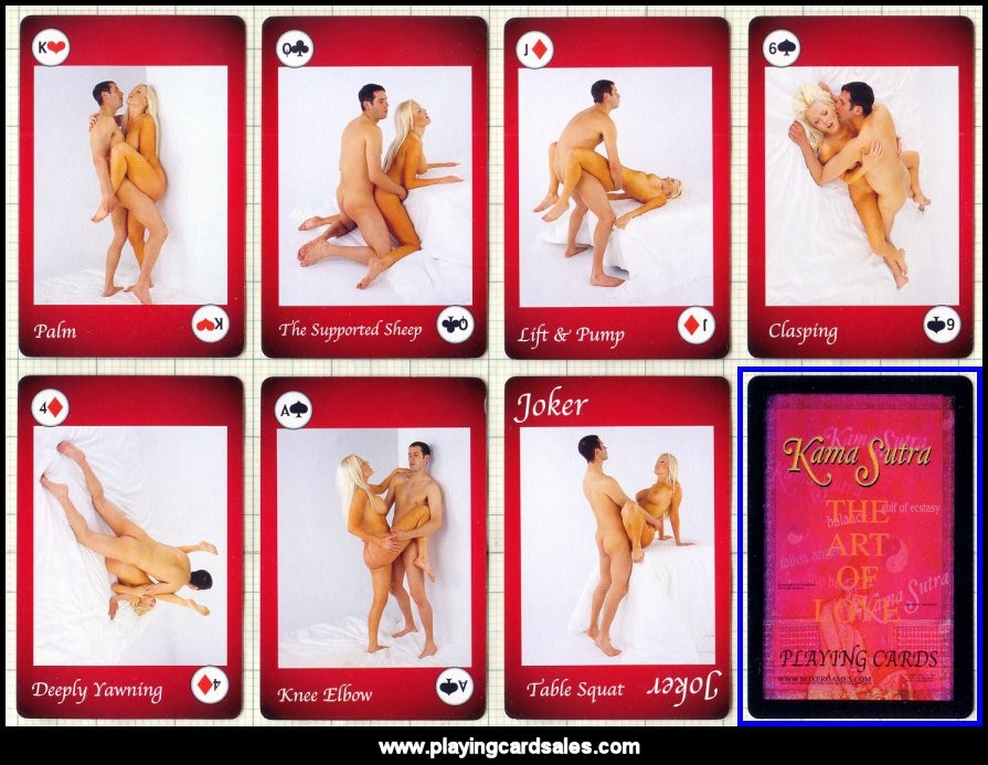 Sex position playing cards